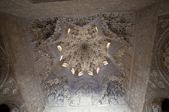 The Alhambra. Ceiling of th Hall of the Two sisters.