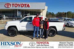 #HappyBirthday to Chad & Kim from Mike Brenski at Hixson Toyota of Leesville!