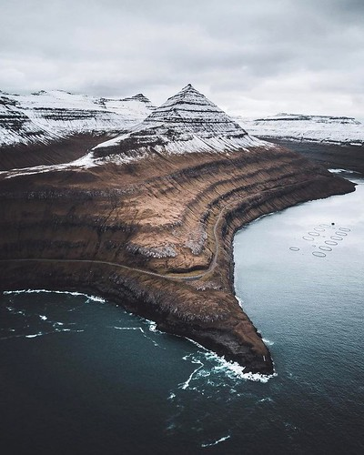 Landscape Drone Photography : Faroe Islands From Above: Drone Photography by Even Tryggstrand #inspiration #ph…