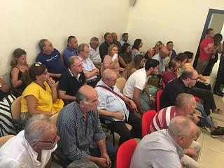 Il pubblico durante la prima assise cittadina