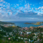 12. Mai 2018 - 6:20 - A great place to view Charlotte Amalie can be found in the hills above the city (Charlotte Amalie Overlook).  I found it by accident just driving around.  Sometimes I prepare for a shot, and other times I just get plain lucky.