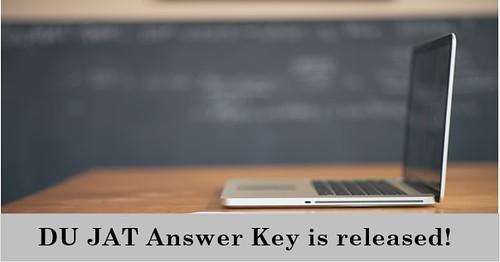 DU Answer Key is released