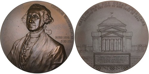 Washington Hall of Fame Medal