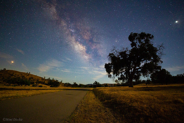 The Road to Mars, The Milky Way, and Jupiter