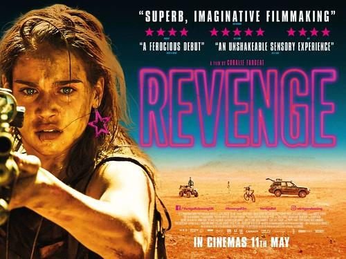 Revenge - 2017 - Poster 4