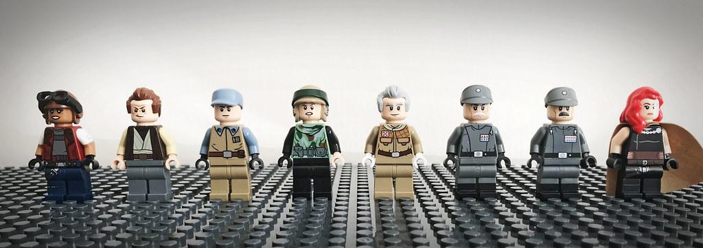 Lego Purist Star Wars Customs