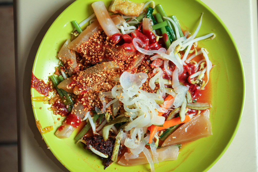 Sin Chew Satay Bee Hoon Cuttlefish Kang Kong (Top Down)