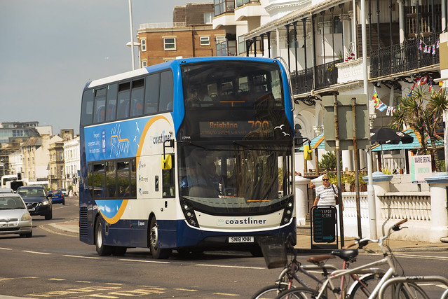 Stagecoach South Worthing., Nikon D750, AF-S VR Zoom-Nikkor 70-200mm f/2.8G IF-ED