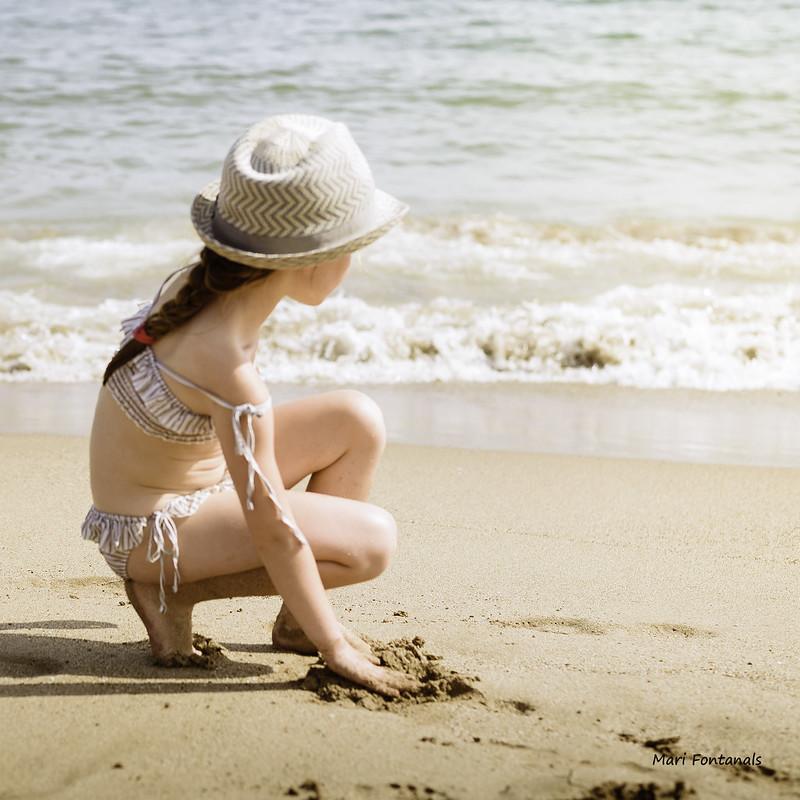 Día de playa.Semana 8 para Litel Pipol.