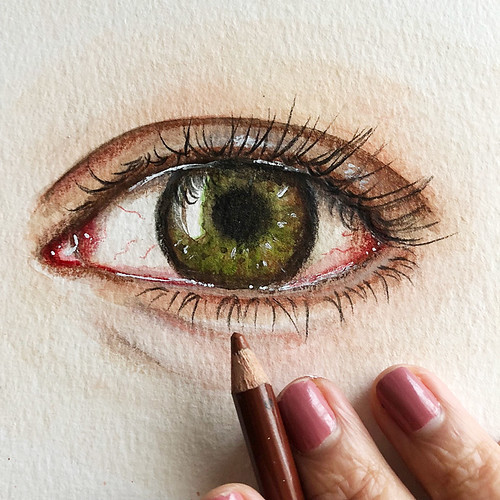 A-mixed-media-eye-from-the-art-journal
