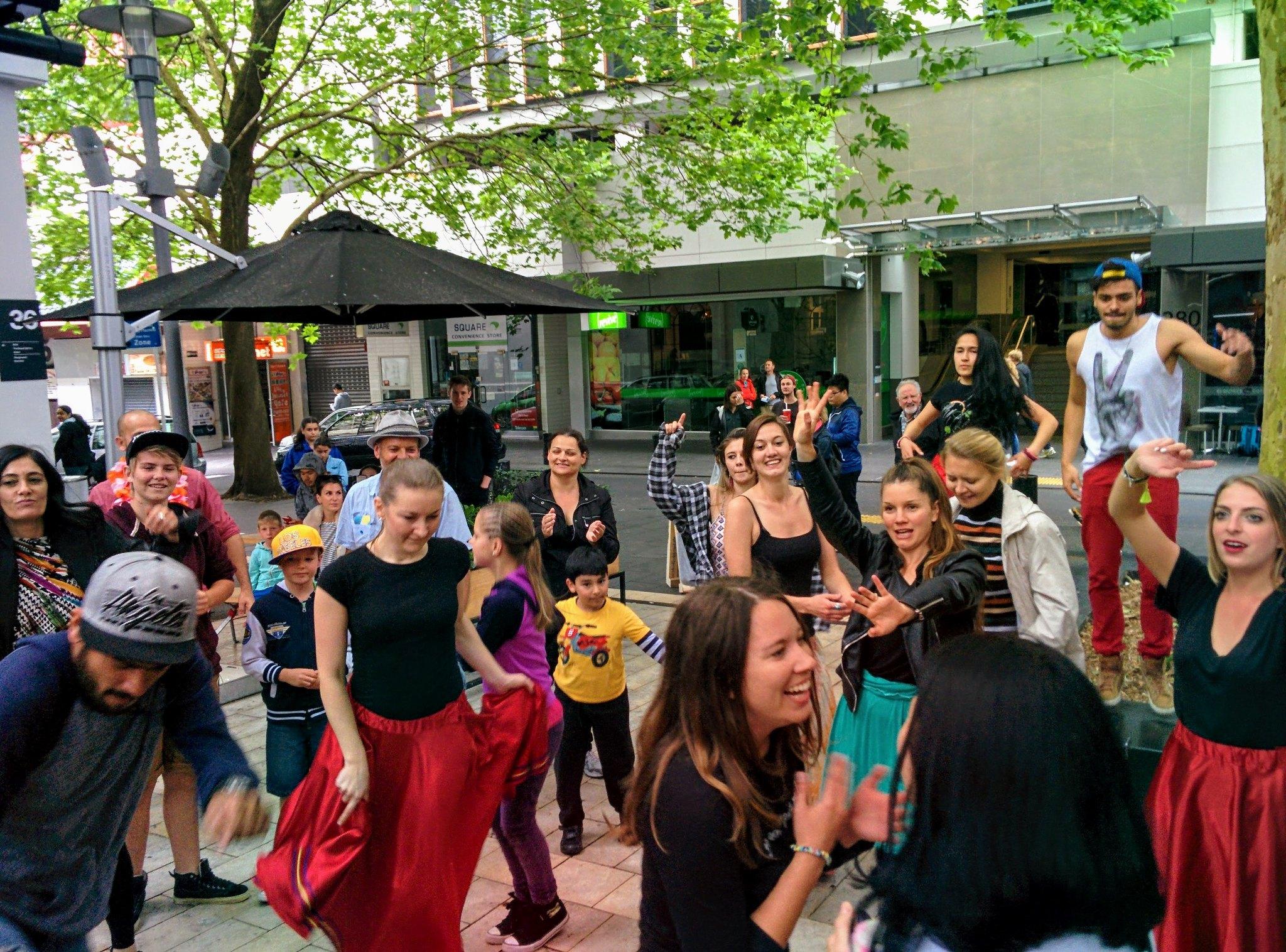 Dance mob!