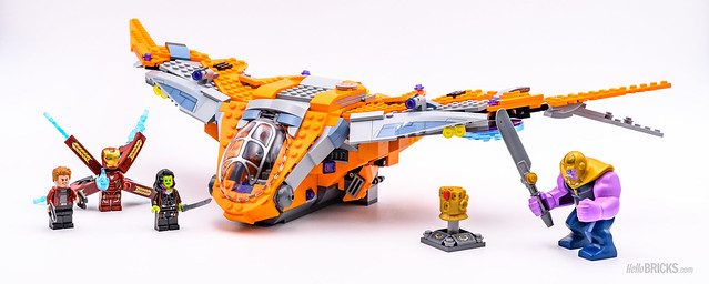 REVIEW LEGO Marvel 76107 Thanos Ultimate Battle 20
