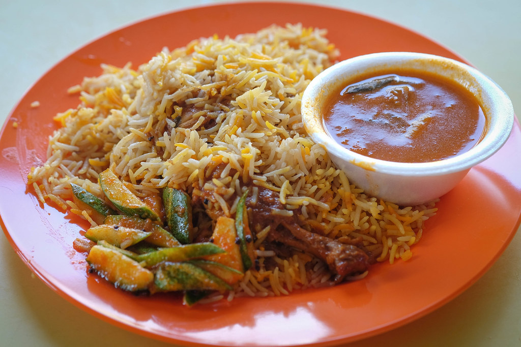 Hamidah B chicken briyani
