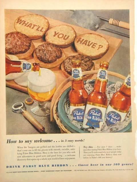 Pabst-1952-hamburgers