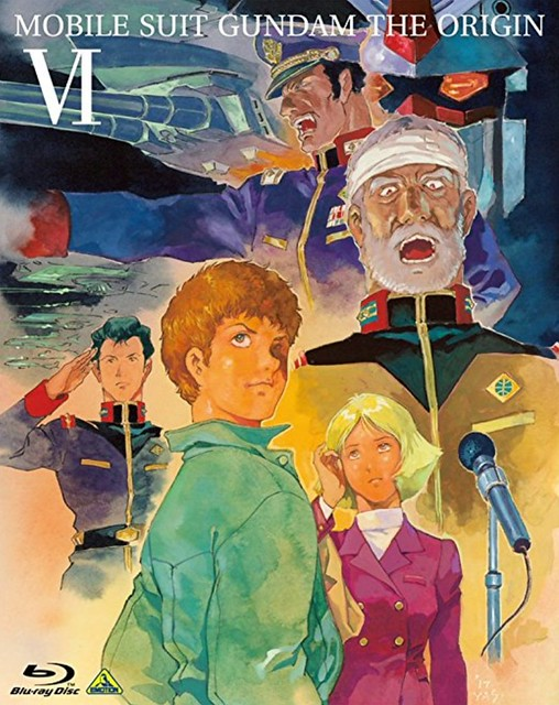 GUNDAM THE ORIGIN VI: Blu Ray and DVD editions are on sale
