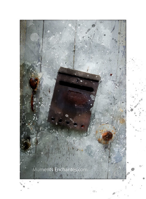 La boite aux lettres, Pentax K10D, smc PENTAX-DA 18-55mm F3.5-5.6 AL