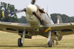 Supermarine Spitfire Mk.Vb BM597 (G-MKVB) - Historic Aircraft Collecti