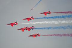RAF Red Arrows Aerobatic Team (75)