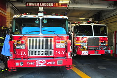 FDNY Tower Ladder 152 · Engine 299