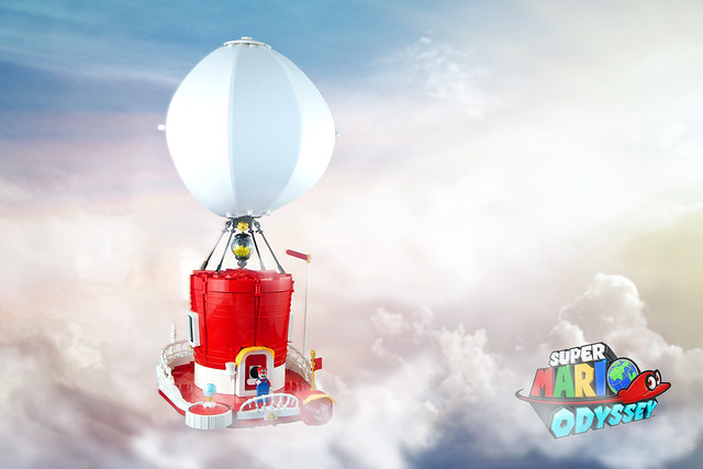 The Odyssey from Super Mario Odyssey