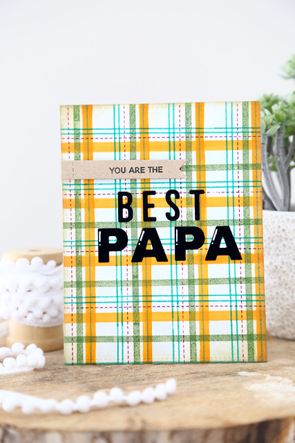 plaid for papa (Ellen Hutson)