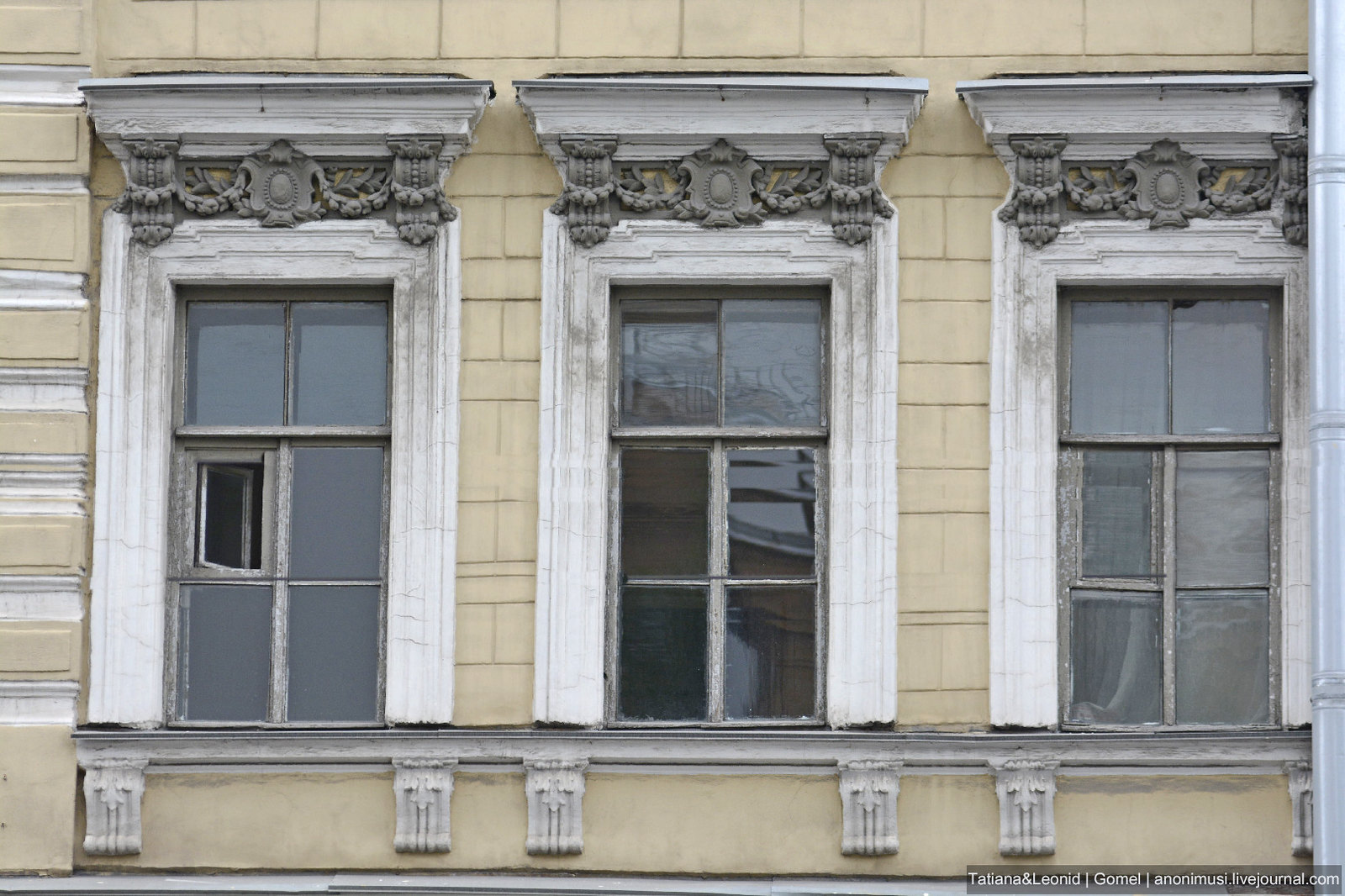 Невские окна. Санкт-Петербург