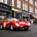 Street parked 250GTO by Aimery Dutheil photography