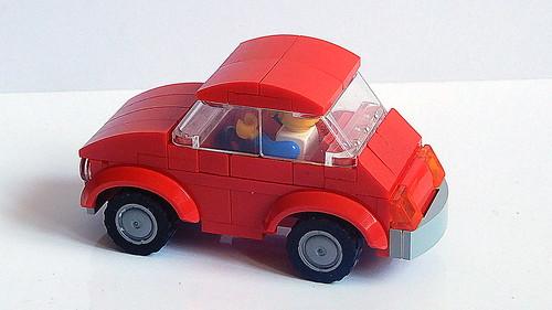 Lego Fiat 500 - Cinquecento (MOC - 4K)