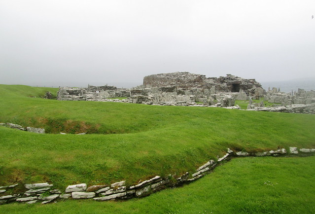 Broch of Gurness from Southeast