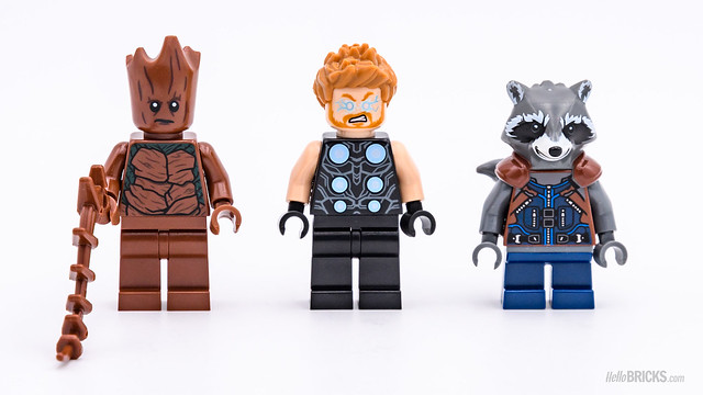 REVIEW LEGO Marvel 76102 Thor's Weapon Quest 1