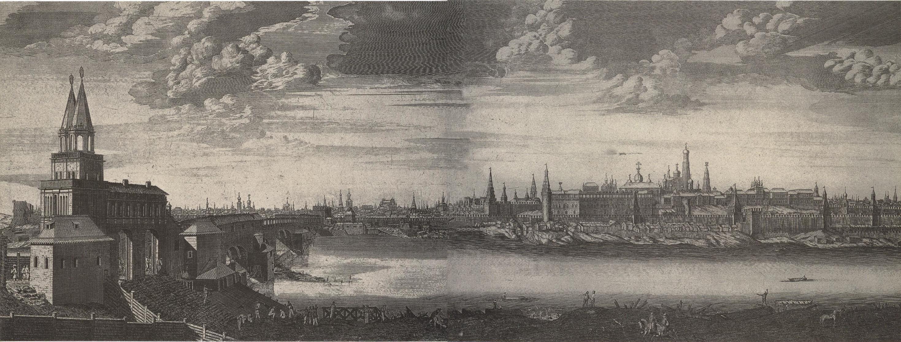 1707. Вид Москвы от Каменного моста5