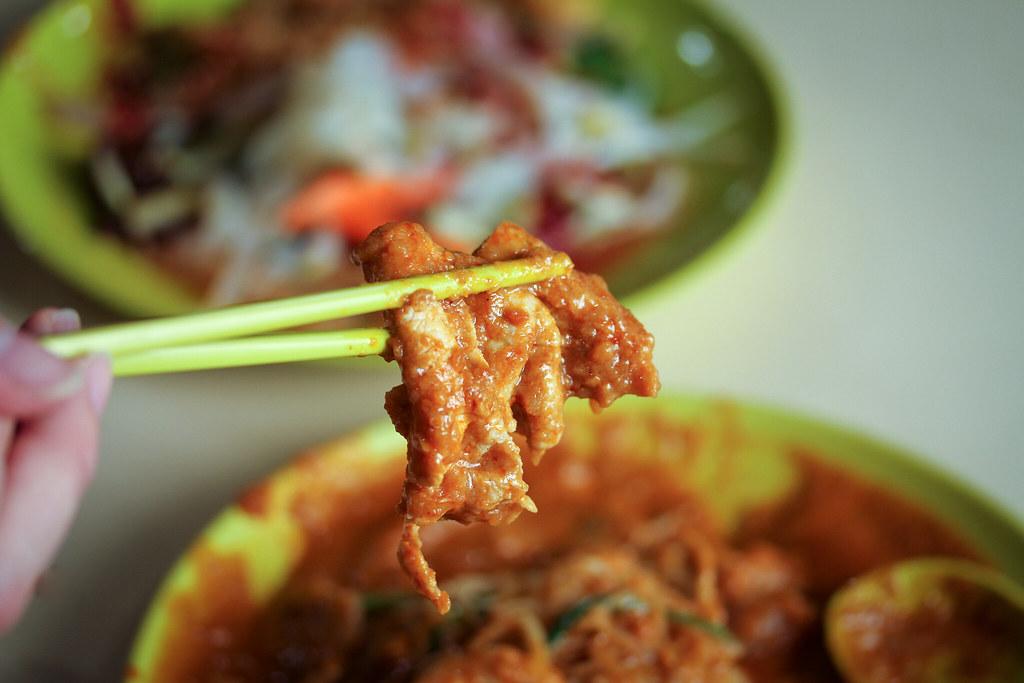Sin Chew Satay Bee Hoon Pork Slice