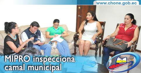 MIPRO inspecciona camal municipal