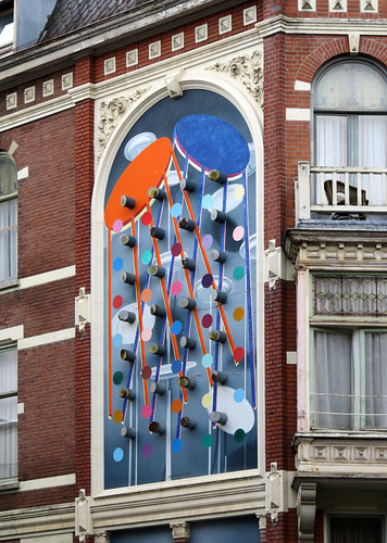 A wall mural in Rotterdam, Holland
