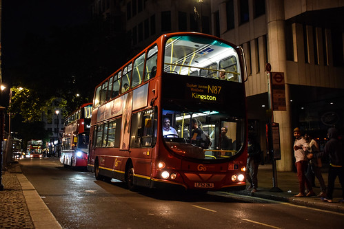 [RARE] Go-Ahead London WVL96 on Route N87, Charing Cross