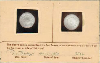 Taxay Nickel card front