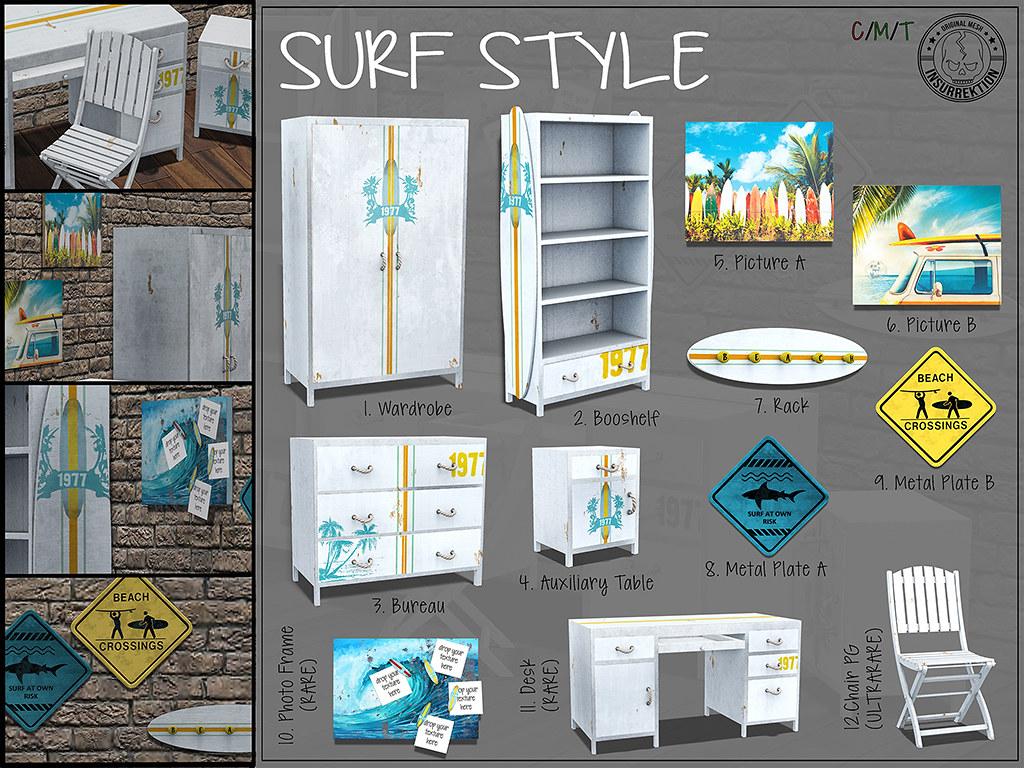 [IK] Surf Style Room Key 4×3