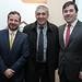 Darío Romero, Ricardo Miranda y Maximiliano Correa