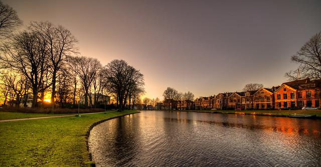 Kenaupark & Kinderhuissingel, Haarlem.