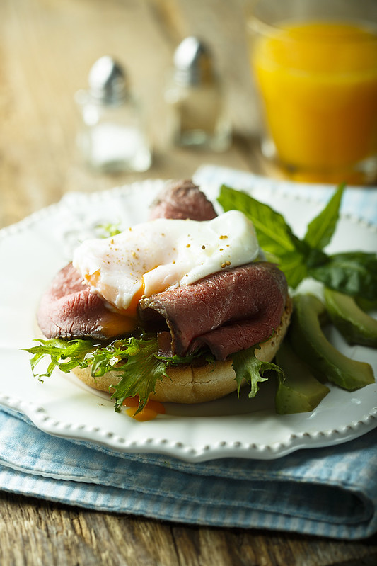 Немного о завтраках и яйцах пашот.