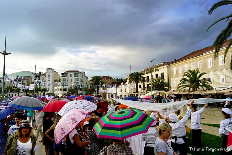 Набережная Пине во время проведения Фестиваля жученицы
