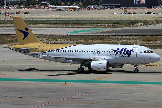 A319-100 - I Ffy - EI-GFO