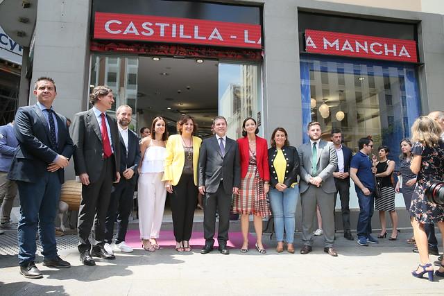 Inauguración de la Oficina de Promoción Turística de CLM en Madrid