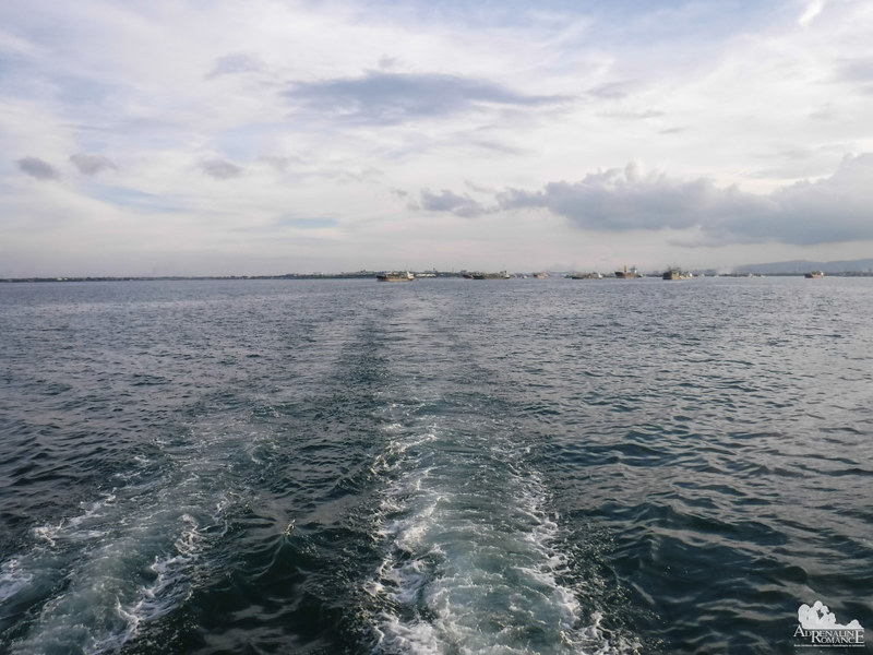 Cruising the Mactan Channel