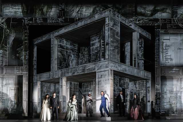 Production Photo of Don Giovanni, The Royal Opera © 2018 ROH. Photograph by Bill Cooper