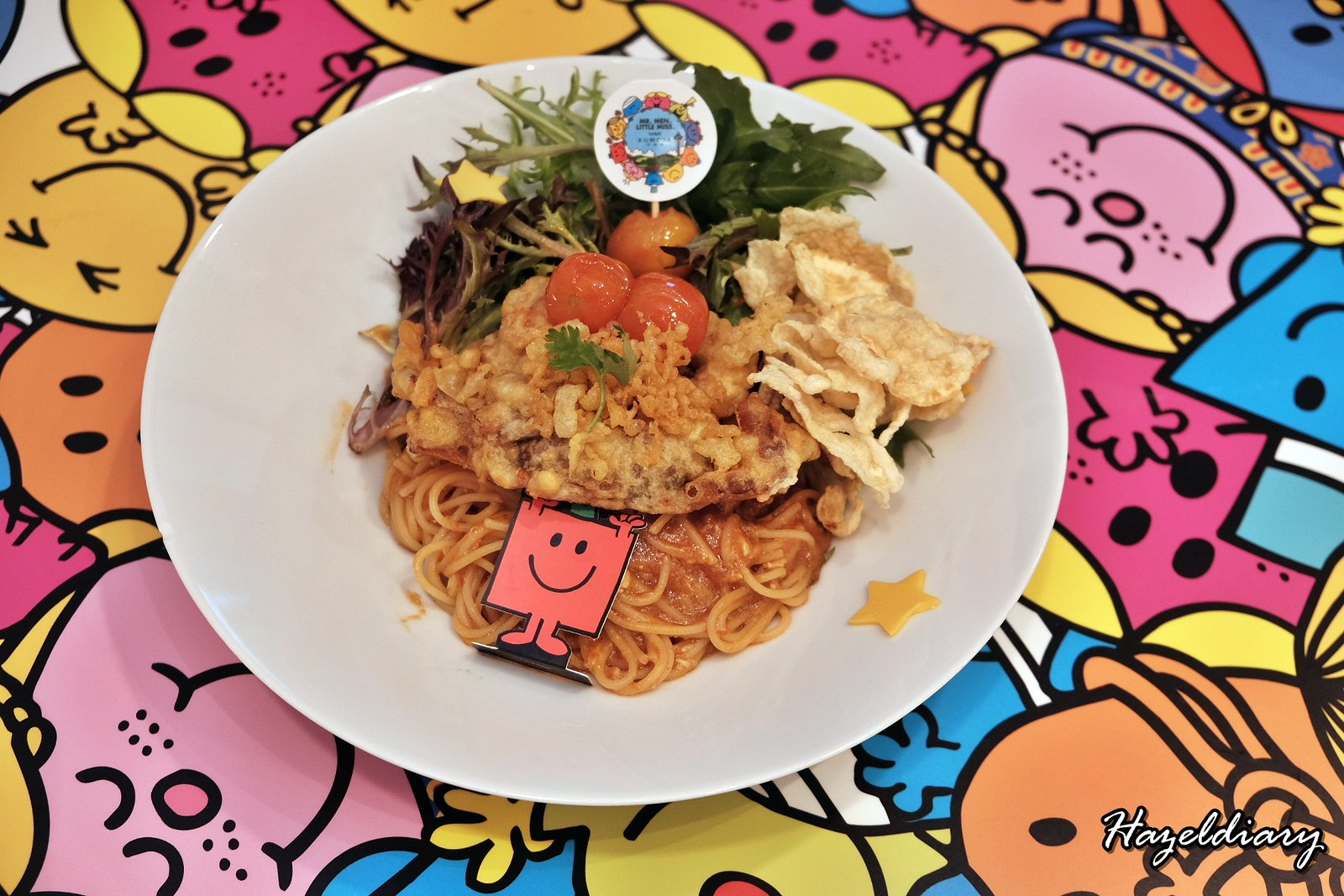 Kumoya Mr Men Little Miss-Mr Strong Chilli Crab Pasta
