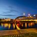 Mindaugas Bridge Vilnius by K.H.Reichert [ not explored ]