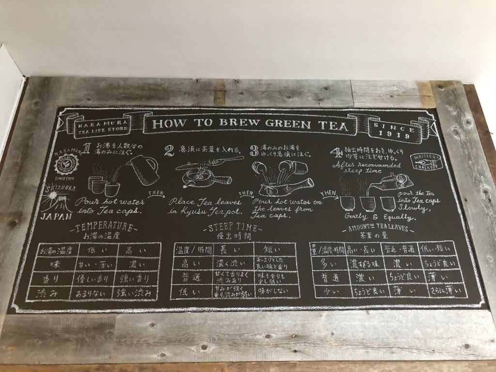 tea nakamura お茶の淹れ方