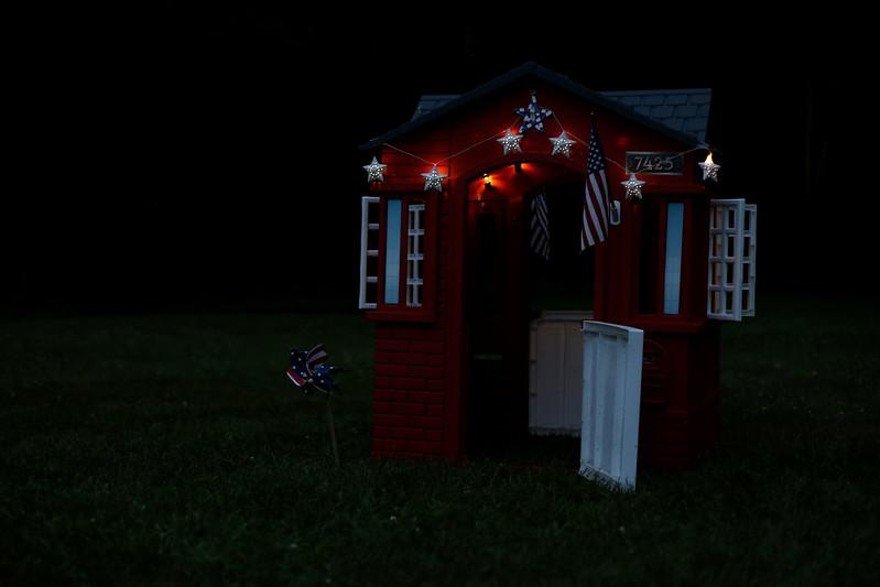 nighttime playhouse
