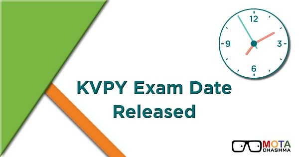 kvpy exam date announced check kvpy exam date 2018